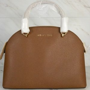 Michael Kors large Emmy Dome Satchel - Luggage